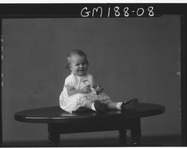 Portrait of baby 'Brennan'