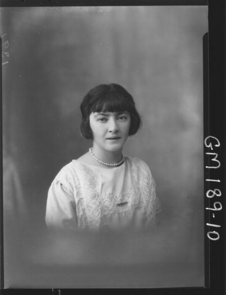 Portrait of woman 'Scherini'