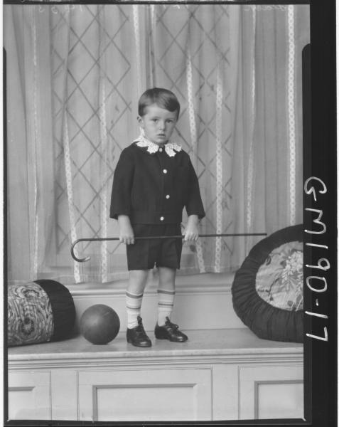 Portrait of child 'Leach'