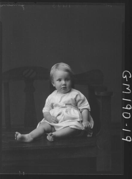 Portrait of child 'Jensen'