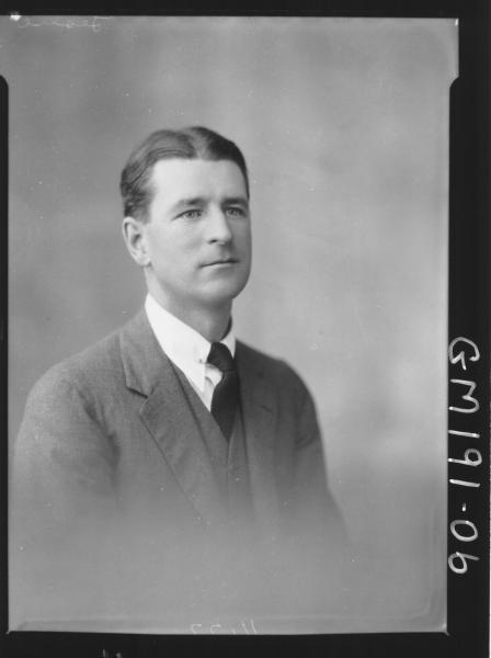 Portrait of man 'Leslie'