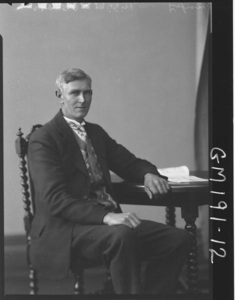 Portrait of man 'Morfey'