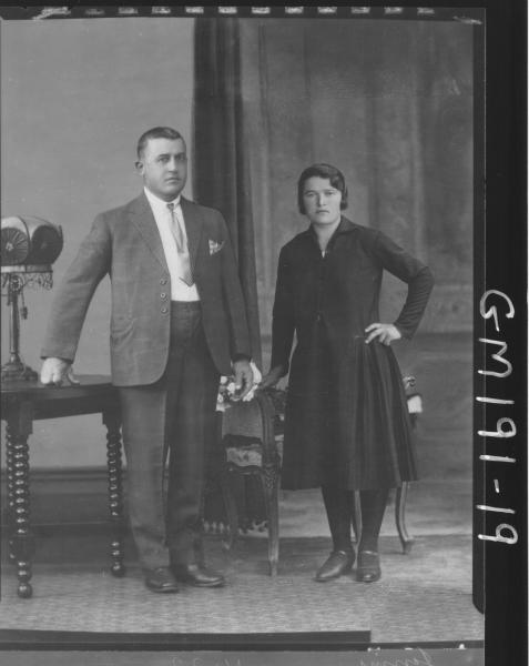 Portrait of man and woman 'Jenini'
