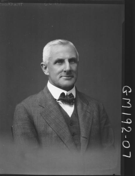 Portrait of man 'Mathews'