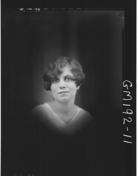Portrait of woman 'Moran'