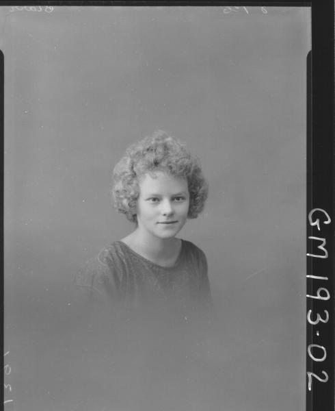 Portrait of woman 'Starr'