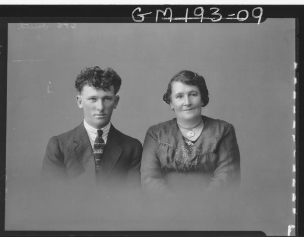 Portrait of man and woman 'Smith'