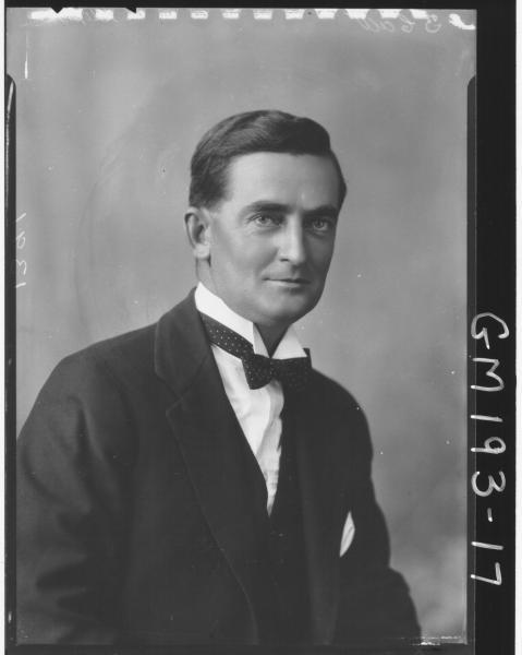 Portrait of man 'Stephens'