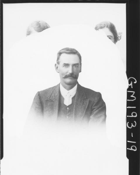Copy portrait of man 'Street'