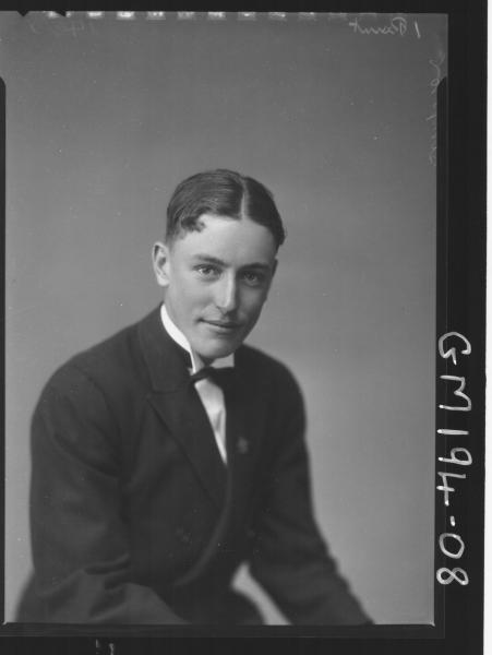 Portrait of man 'Simpson'