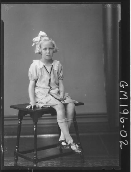 Portrait of girl 'Jensen'