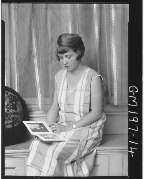 Portrait of woman 'Jennings'