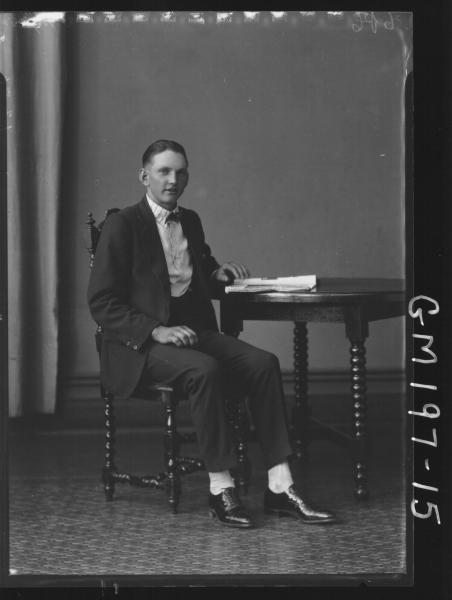 Portrait of man 'Ingram'