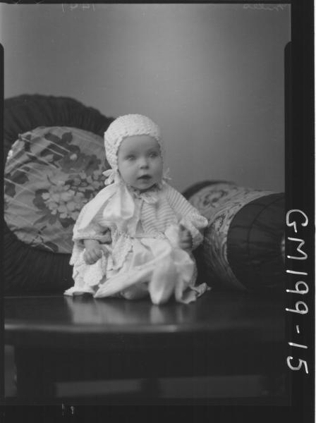 Portrait of baby 'Miles'