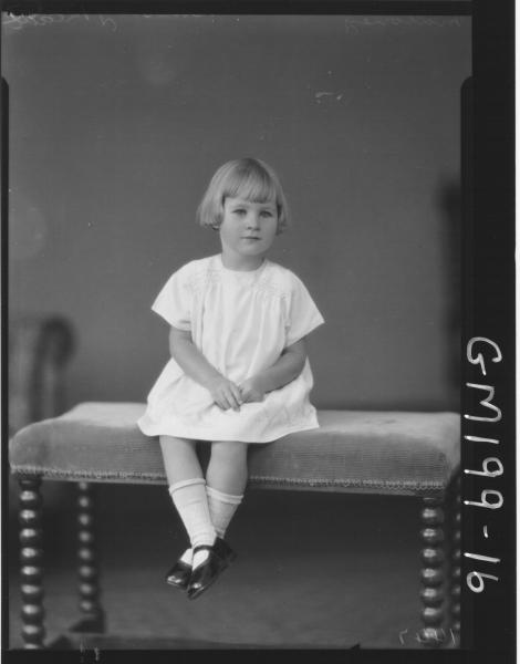 Portrait of child 'Maloney'