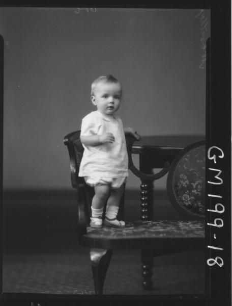 Portrait of child 'McCarthy'