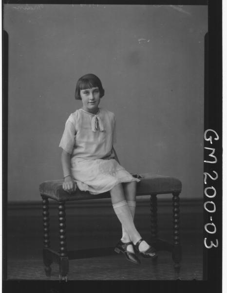 Portrait of girl 'Main'