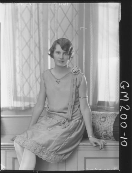 Portrait of woman 'Marshall'