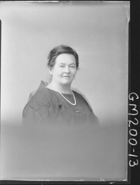 Portrait of woman 'Bennett'