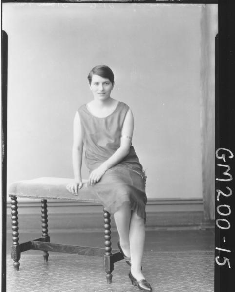 Portrait of woman 'Bennie'