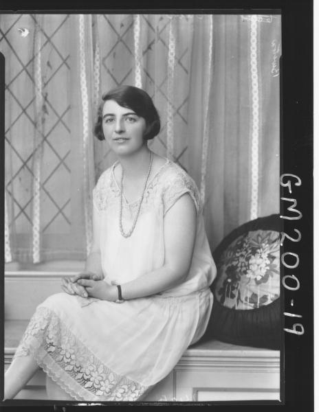 Portrait of woman 'Burton'