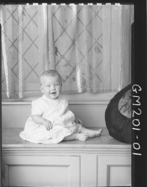 Portrait of baby 'Bennett'