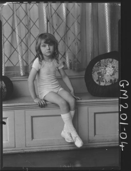 Portrait of girl 'Baker'