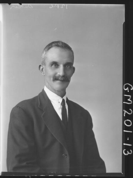 Portrait of man 'Baker'