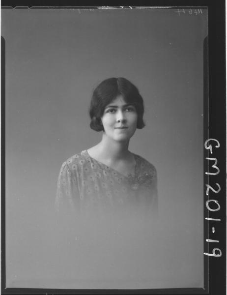 Portrait of woman 'Mayman'