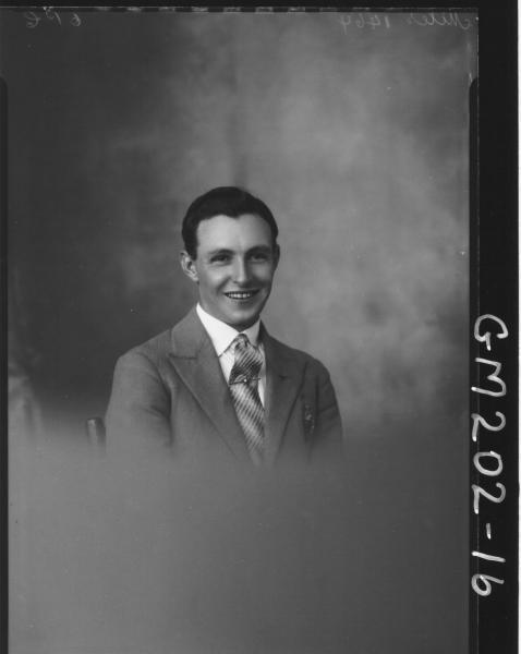 Portrait of man 'Miles'