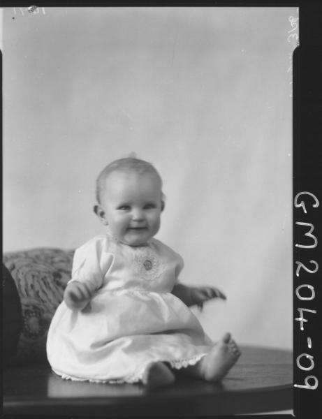 Portrait of baby 'Wright'