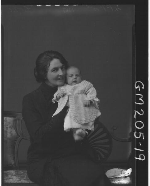 Portrait of woman and baby '?'