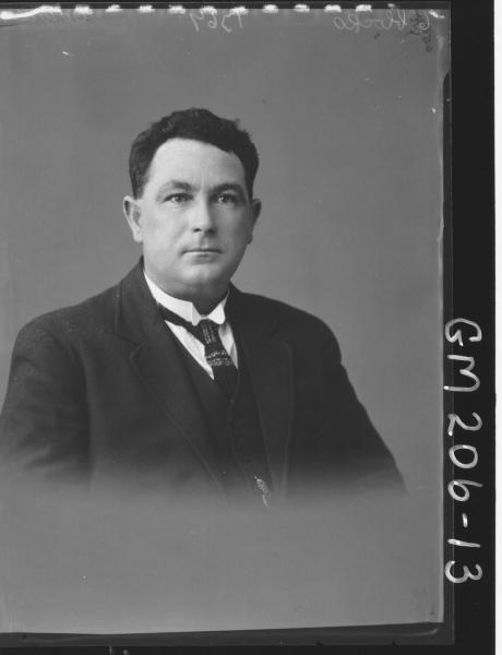 Portrait of man 'Cowden'