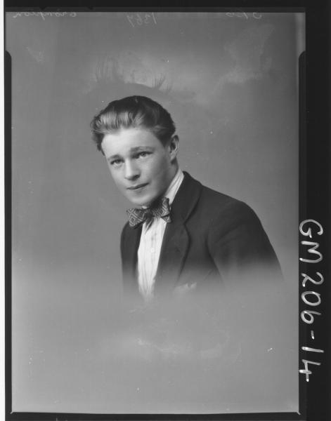 Portrait of man 'Crompton'