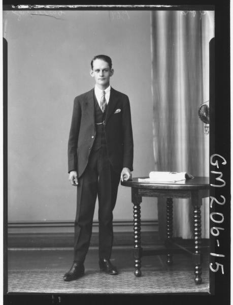 Portrait of man 'Cartledge'