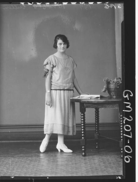 Portrait of woman 'Cullen'