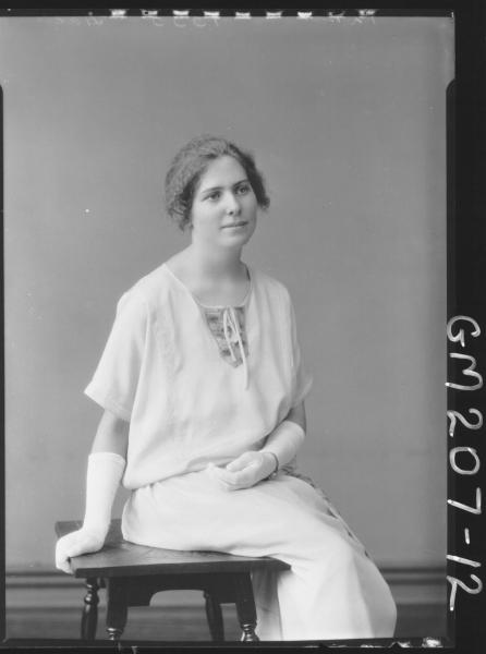 Portrait of woman 'Hahil'