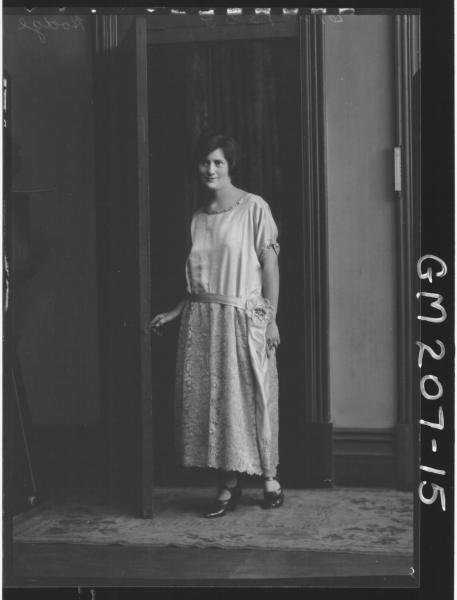Portrait of woman 'Hodge'