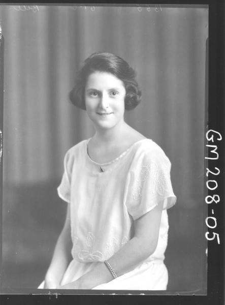 Portrait of woman 'Bell'