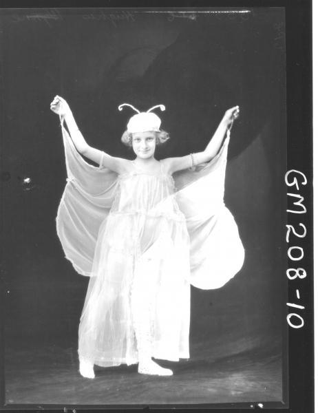 Portrait of girl Fancy Dress 'Hughes'