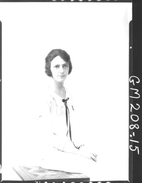 Portrait of woman 'Hunt'