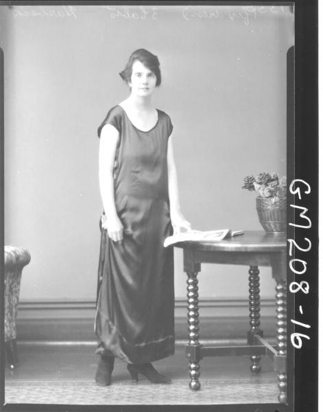 Portrait of woman 'Harbeck'