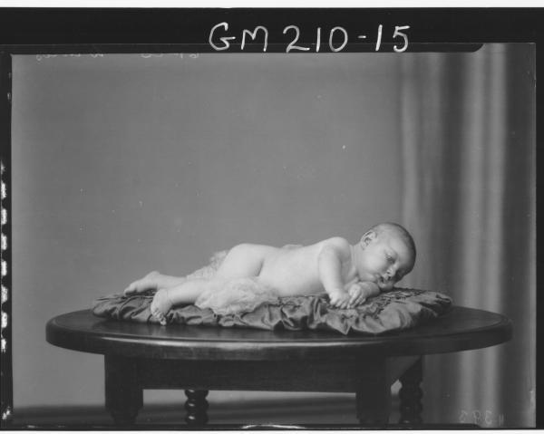 Portrait of baby 'Davies'
