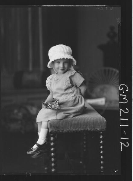 Portrait of child, 'Davies'