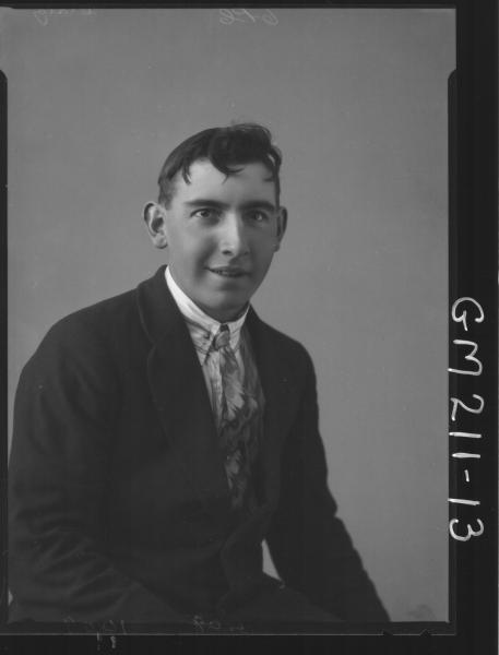 Portrait of man, 'Craig'