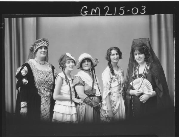 Portrait of actresses Group