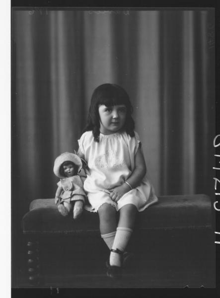 Portrait of child 'Davies'