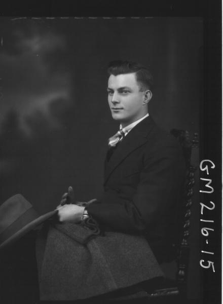 Portrait of man, 'Doyle'