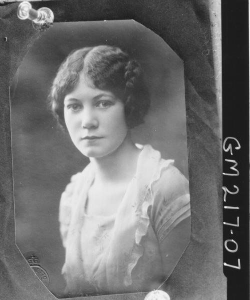 Copy portrait of woman 'Morrison'