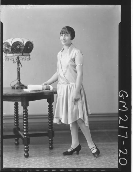 Portrait of woman 'Larkham'